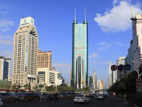 深圳第二高楼工程